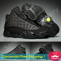 best hunting games - 2016 Best quality retro XIII mans Basketball Shoes Bred Navy Game hologram grey toe Flint Grey Athletics Sport Sneaker Boots