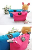 bag for toiletries - Colorful High Quality Lady MakeUp Pouch Cosmetic bags for women makeup travel bag Clutch Hanging Toiletries Travel Kit makeup travel case