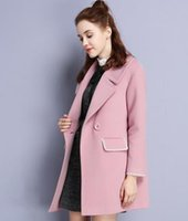 Wholesale The new winter coat with cotton wool coat all match sweet wool coat one color support on behalf of the delivery