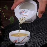 beautiful tea cup - YGS Y225 Tea set Include Pot Cup High quality elegant gaiwan Beautiful and easy teapot kettle teapot