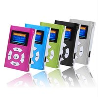 Cheap Sports USB mini MP3 music player Best Yes Card Reader LCD radio player