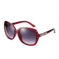 al por mayor comprar uv-Gafas de sol Toad clásico para las mujeres de color marco de plástico UV 400 Espejo Lentes Gafas Gafas Moda Venta al por mayor baratos Comprar SG-019