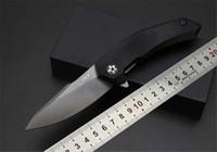 Wholesale ZT ball bearing folding knife blade titanium black G10 handle outdoor camping hunting tools
