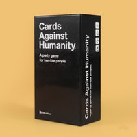 Wholesale US CA UK AU Basic Edition Cards Against Game Cards Of Humanity White Cards Fantastic Card Game Classic High Quality In Stock
