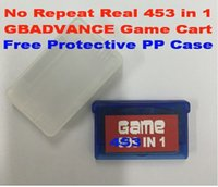 Wholesale GameBox GBADVANCE in game Cartridge Free Protective PP Case