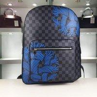 backpack popular - Popular Printing Unisex Travelling Bags High Qualtiy Fashion Designer Leather Zipper Medium Backpacks with Large Capacity