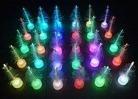 Wholesale LED Optical Fiber Hotel Bedroom Bathroom Decoration Artificial Christmas Tree