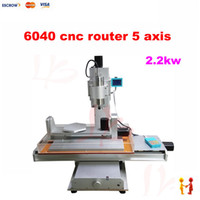 Wholesale Three dimensional axis cnc router mini woodworking milling machine for metal wood cutting with KW water sink
