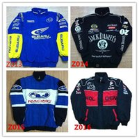 Wholesale Embroidery brand F1 FIA NASCAR IndyCar V8 Supercar MOTO GP Racing Cotton Jacket Motorcycle Rider Jacket f1 MOTO RACING JACKET men AR00