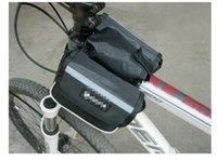 Wholesale High quality Cycling Bicycle Bike Top Frame Front Pannier Saddle Tube Bag Double Pouch