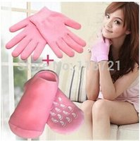 Wholesale Hot sale pairs pair glove pair sock SPA Gel Moisturizing Glove Sock for your beautiful hands and foot