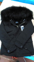 Wholesale Real picture show Ladies furs short Parlas hooded with real raccoon fur collar soft Velvet Liner Detachable