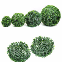 Wholesale F85 New Artificial Plant Ball Tree Boxwood Wedding Event Home Outdoor Decoration Hot