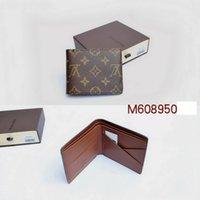 Wholesale 2016 fashion men louis wallet monogram checked brown black MICHAEL KOR WALLET M608950 N617200 N626630 N609300 N616650
