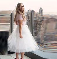 beautiful new york - New York Style Modern Fashion Skirts Womens Length Midi Skirt White Tulle Skirt fashion beautiful custom white skirt