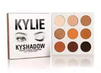 Wholesale NEW Kylie Jenners Bronze Burgundy Kyshadow palette Holiday Edition The Holiday Palette Eyeshadow DHL free ship Christmas Gift
