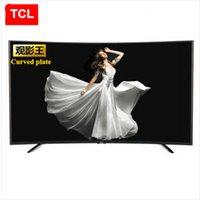 TCL 55 pouces Le roi du film incurvé plaque Gamme haute couleur Huit nucléaire androïde intelligent LED TV LCD FULL HD 1920 * 1080P TV de la mode