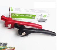 Wholesale Kitchen Cans Opener Jar Opener Stainless Steel Edge Side Cut Manual Tin Can Opener Bottle Tin Can Open Tool KKA1335