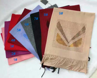 Wholesale cashmere scarf with diamonds women scarf luxury brand blanket scarf Chirstmas gifts cm cm winter scarves