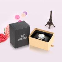 beautiful storage boxes - New Naviforce Watch Box High Quality Beautiful Slide drawer Watch Case Elegant Gift Box Multifunctional Storage Box