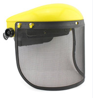 Wholesale Chainsaw Safety Helmet Brushcutter Trimmer Protective Hat Face Shield Screen