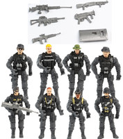 Boys action figures army - 8pcs A Set Gi Joe Military Soldiers Army Action Figure Toy Doll And Weapons