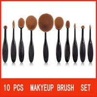 Wholesale Hot New Eyeshadow Toothbrush Makeup Brush Sets Multifunction Crease Brush Designer Shaping Brush
