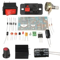 Wholesale New DIY Electric Unit High quality DIY Kit LM317 Adjustable Regulated Voltage Step down Power Supply Suite Module