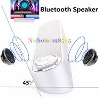 bass horn speaker - S586 Bluetooth Speakers Wireless Mini Loudspeaker HIFI Stereo Bass Subwoofer Diaphragm Active Loud Bluetooth Speaker High Power Horn Speaker