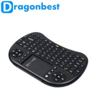 Wholesale I8Wireless Keyboard ghz English Air Mouse Touchpad Remote Control For Android TV Box and Tablet Mini PC