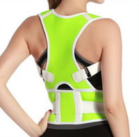back and shoulder support - 8 colors Adults Children adjustable Latex Medical Orthopaedic Posture Corrector Back and Shoulder Support Brace Belt