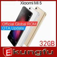 al por mayor sim rápida-Original Xiaomi Mi5 M5 Mi 5 Teléfono Móvil Snapdragon 820 5.15