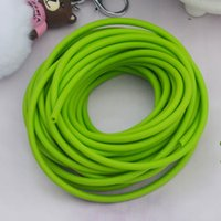 Wholesale 10M green hunting slingshot rubber tube Hunting Slingshot Natural Latex Rubber Band Hunting Catapult Elastic Tube