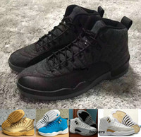 ball fabric - New Men Women Air Retro XII Wool Shoes Mens Basketball Shoes Sports Sneakers Retros s Basket Ball OVO White Gym Red Grey Running Shoes