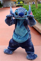 best halloween costumes adult - Luxury Lilo And Stitch Professional Lilo And Stitch The Best Mascot Cartoon Costume Suit Halloween Christmas Birthday Dress Adult Size