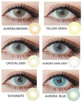 aurora free - The aurora series tone contact lens pieces pair hot selling natural color corrective big eyes contact lens