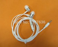 Wholesale DHL Fedex free stereo earphone headset with mic for mi2 mi2s mi2a mi1s iPhone Samsung HTC etc