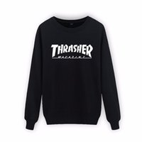 Wholesale 2016 New thrasher sweatshirt Arrival xl Cotton Thrasher hoodie Men Autumn Winter Hip Hop in Mens Hoodies and thrasher Sweatshir