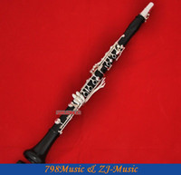 bb systems - Professional Grenadilla Black Wooden Key Bb Clarinet Boom System With Case
