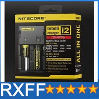 Wholesale Genuine Nitecore I2 Universal Charger for Battery E Cigarette in Muliti Function Intellicharger Rechargeable HZ