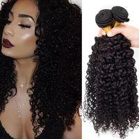 indian remy hair bulk - 7A Brazilian Human Hair Curly Brazilian Hair Bulk Unprocessed Brazilian Weave Human Hair Extension Weft Remy Curly Human Hair Weave