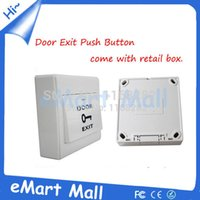 access lighting wall - Door Exit Push Release Button Switch Light wall switch for Electric Access Control with retail box