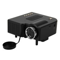 audio equipments - Cheap UK Plug Home Audio Video Equipments Portable Mini Projector Multimedia Cinema Theater PC Laptop LED Projector