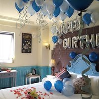 adult english films - Adult Valentine s day birthday aluminum film package silver aluminum film English letter package for men happy birthday