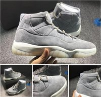 best waterproof shoes - Retro PRM Grey Suede Best Quality Carbon Really Air Retro s Suede Men Shoes Basketball Shoes Men shoes
