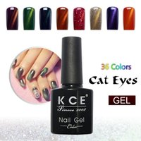Wholesale KCE Brand UV glue Nail Polish Manicure LED Cats Eye Color ml Healthy cat eye nail And Green Plastic paint Made In China