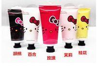 Wholesale Foreign trade cosmetics whitening water moisturizing moisturizing g cartoon hand cream per case piece