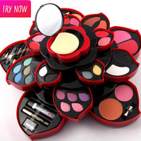 Wholesale Original Miss Rose EyeShadow Makeup Kit Box Collection Party Wear Makeup Eye Shadow Palette For Dresser full kit DHL