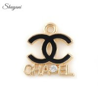 Wholesale New Arrival Fashion DIY Brand Letter Floating Charms Pendant Jewelry Making Accessories Necklace Handmade Crafts mm