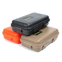 Containers 0 to 9.99 0-0.25 Small Size Outdoor Shockproof Waterproof Airtight Survival Storage Case Container Carry Box For EDC Tools (3 Color)